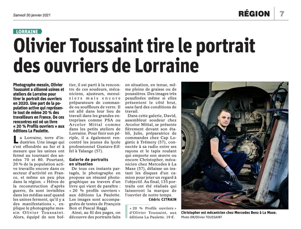 Ouvriers de Lorraine